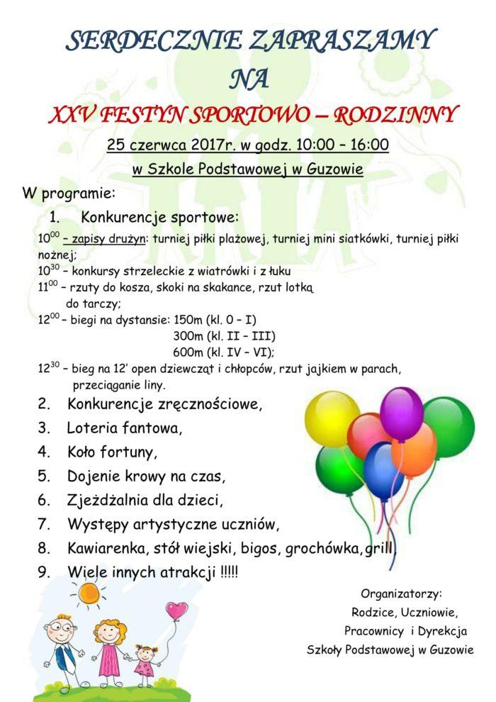 XXV FESTYN Sportowo- Rodzinny-1