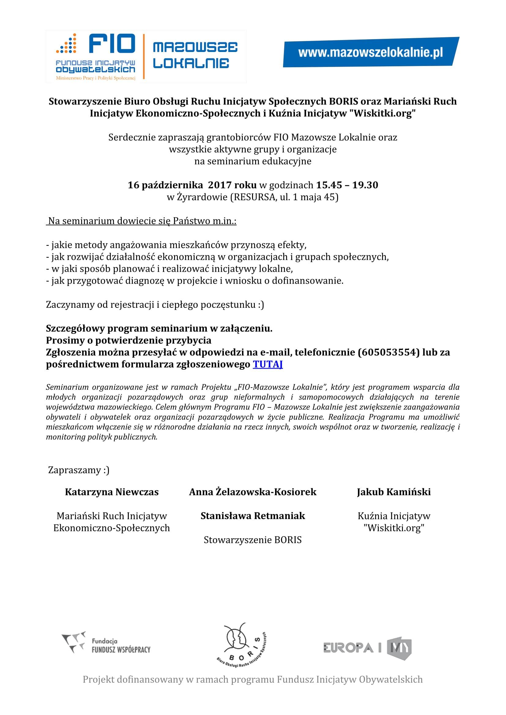 Seminiarium_FIO_Żyrardów_16.10.2017_informacia_i_program-1