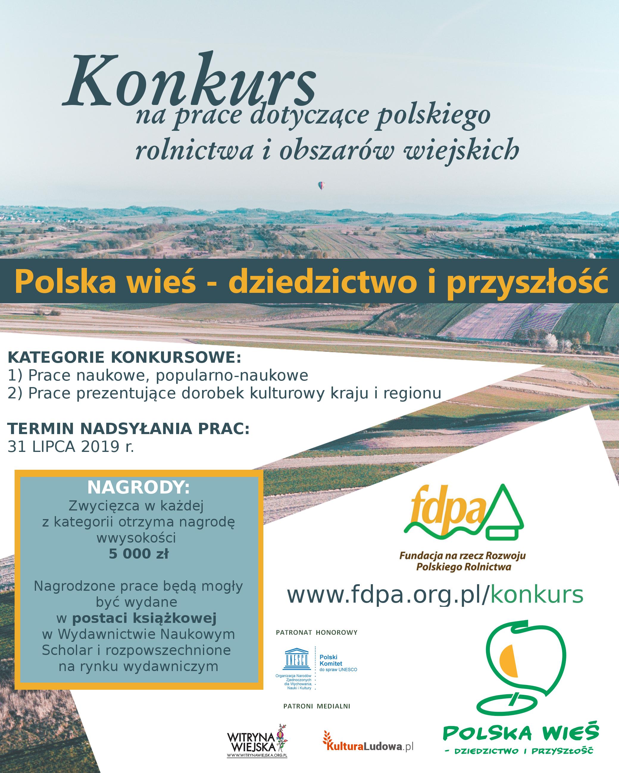 polska wieś plakat_konkurs